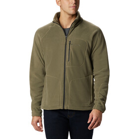 Columbia Fast Trek II Fleece Jack Doorlopende Rits Heren, stone green